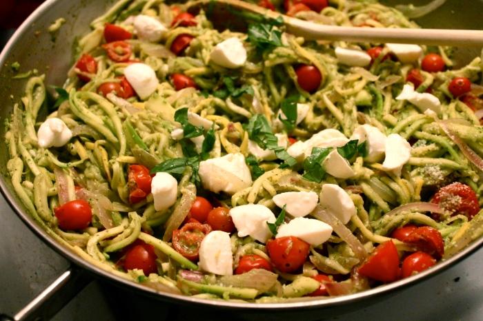 """zucchini """"pasta"""" // kitschandcamera.com"""