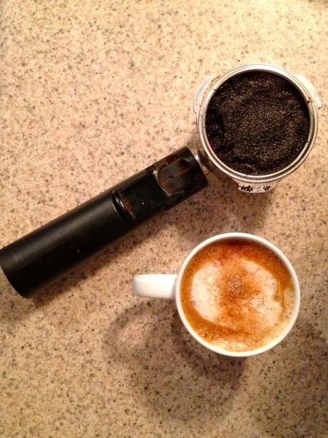 homemade lattes // kitschandcamera.com