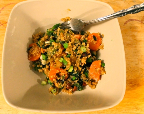asian quinoa stir-fry, ming tsai-inspired // kitschandcamera.com