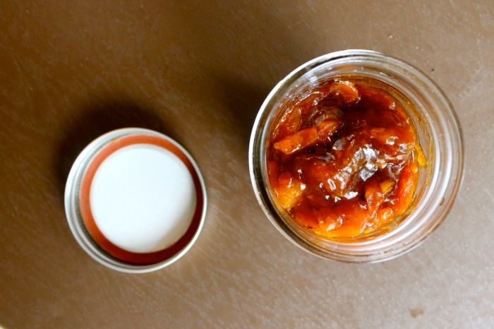apricot ginger jam // kitschandcamera.com