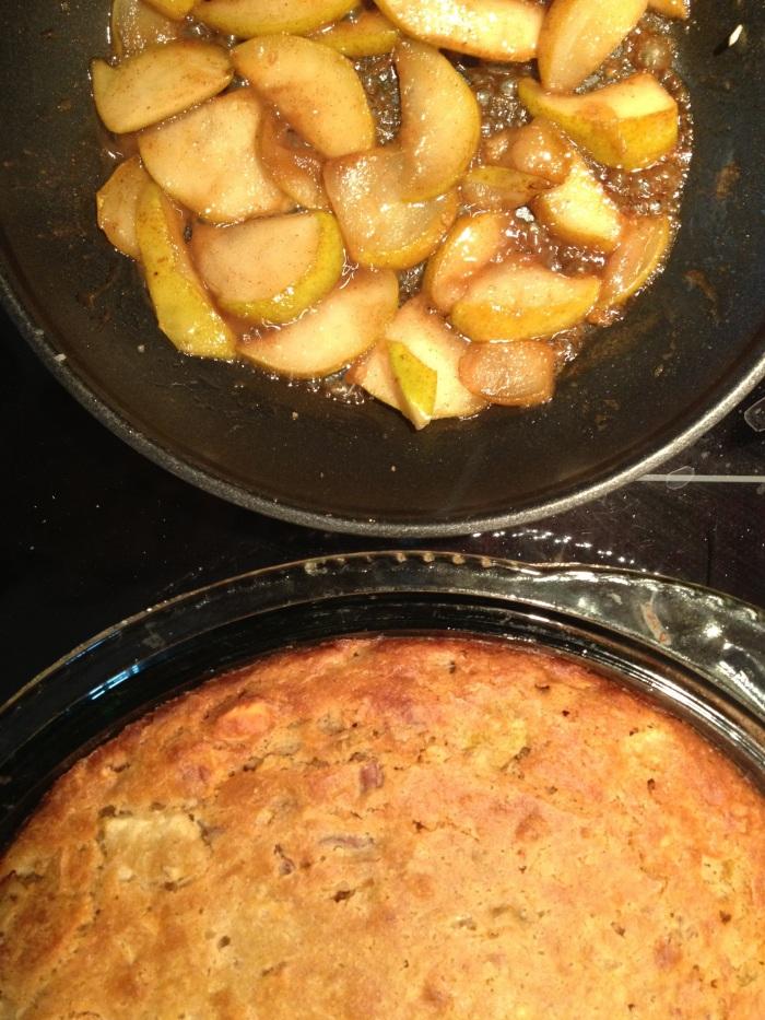 almond pear cake // kitschandcamera.com